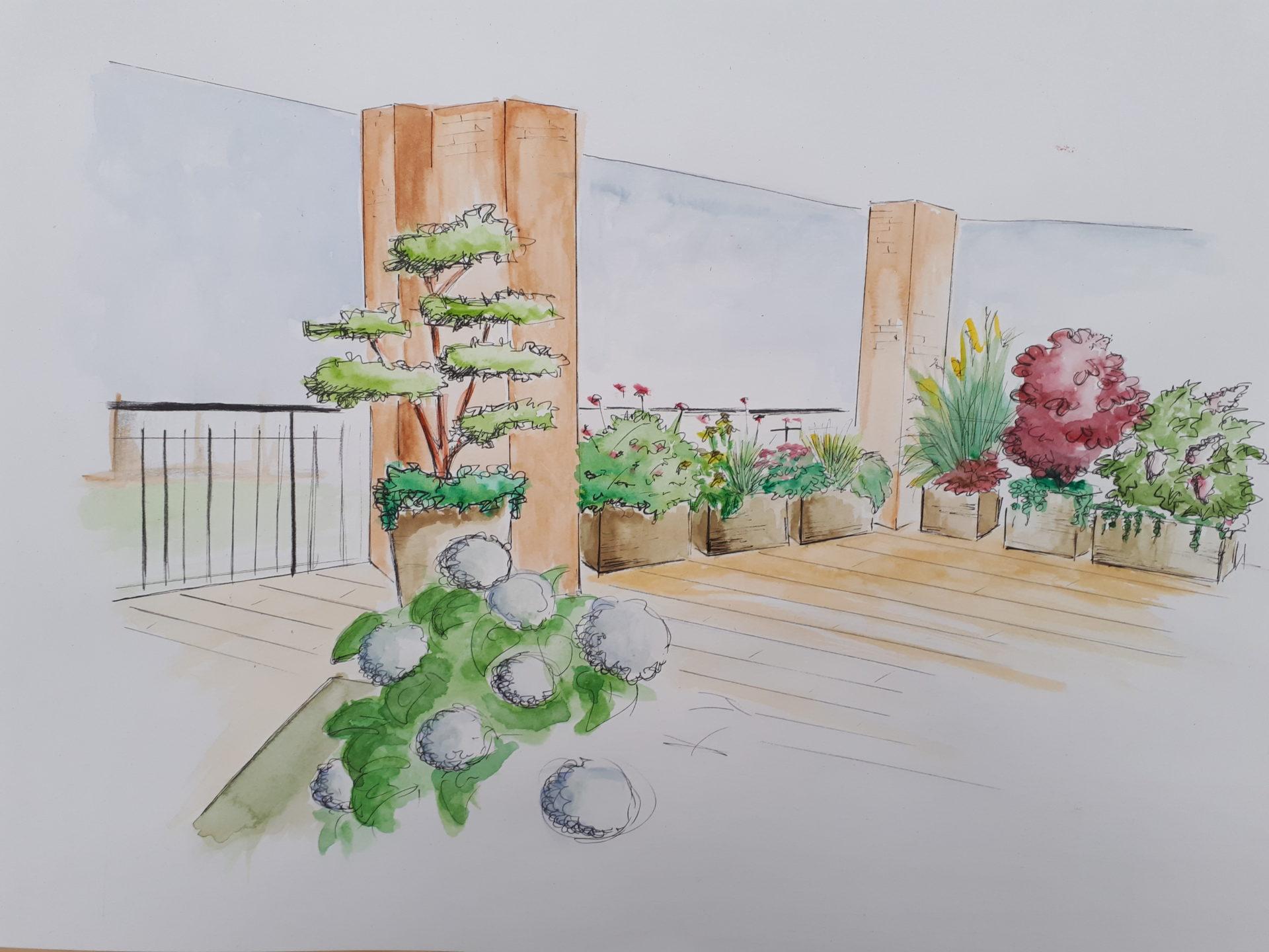 Terrazzo A Prova Di Solleone Nostro Progetto Rivista